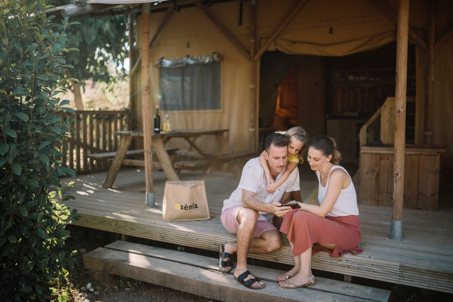 Camping Caballo de Mar Glamping Woody photo Exterior Glamping with family