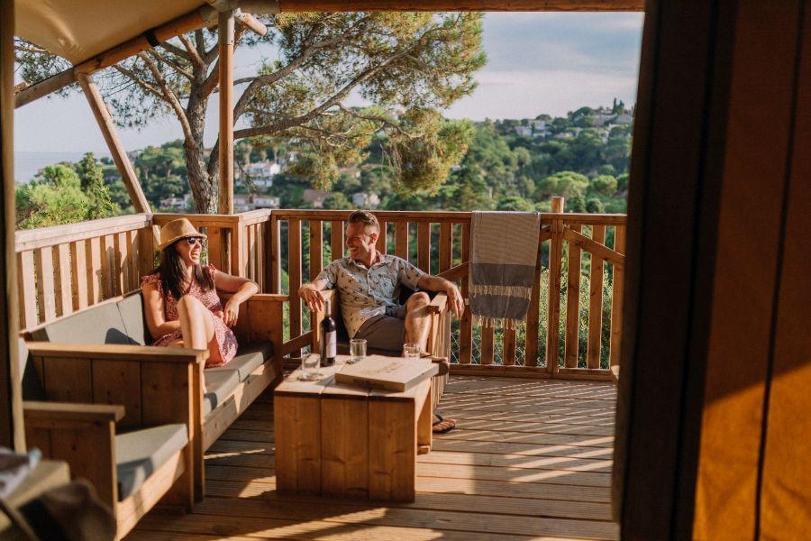 1 Cala Canyelles - Safari terraza - Glamping con vistas al mar 3