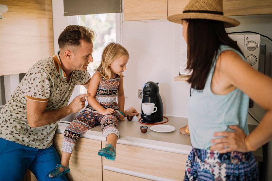 Cala Gogo Garbi cocina Mobil Home Standard