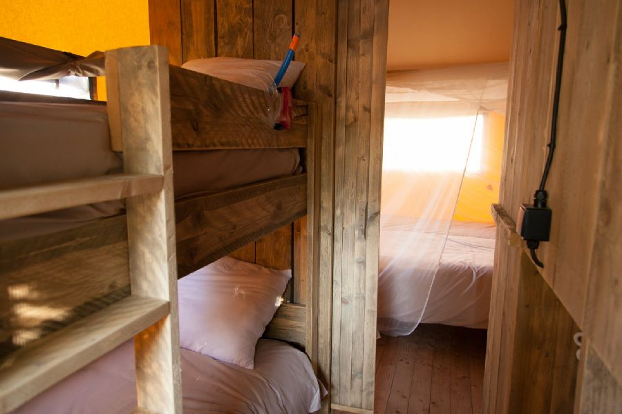 Sea Horse Children's room Glamping Woody glamping with family